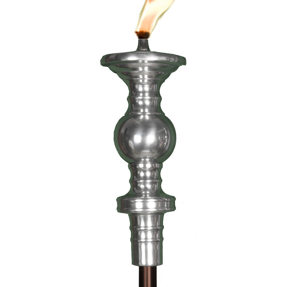 Polished Candlestick Tiki Torch